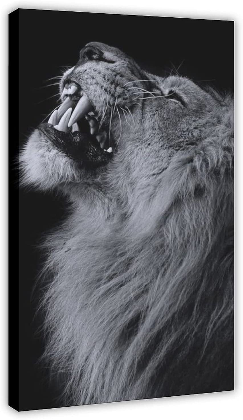 Lion Translated Animal Art Poster 16 Decor All items free shipping Wall Pic Canvas Print