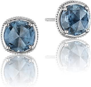 SE15433 Island Rains Sterling Silver London Blue Topaz Earrings