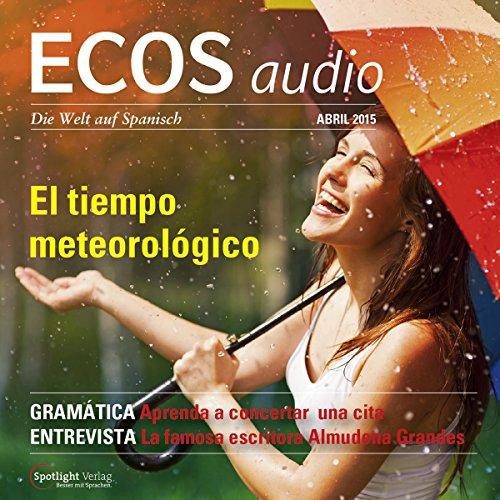 ECOS audio - El tiempo meteorológico. 4/2015 Titelbild