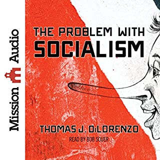 The Problem with Socialism audiobook cover art