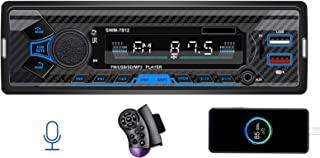 $29 » Single Din Car Stereo with Voice Control,7 Inch FM Radio System,Mp3 Player, Bluetooth Handfree Caling,Daul USB Fast Charging