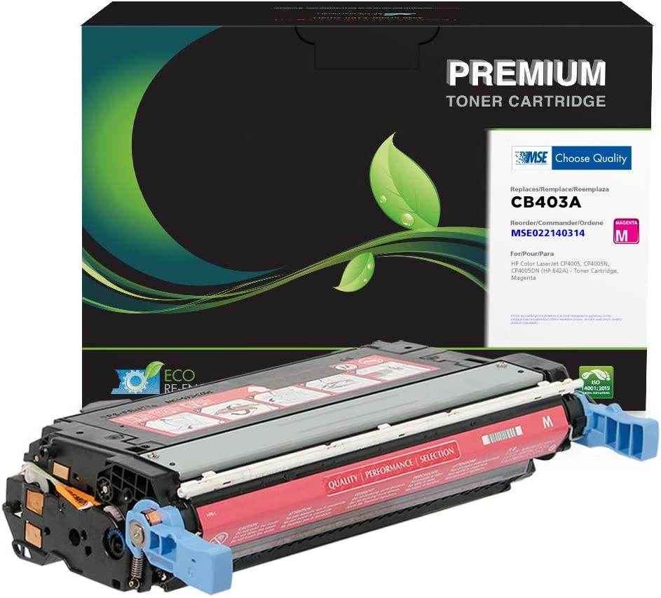 MSE Brand Remanufactured Toner Cartridge for HP 642A CB403A | Magenta, 7,500 (MSE022140314)