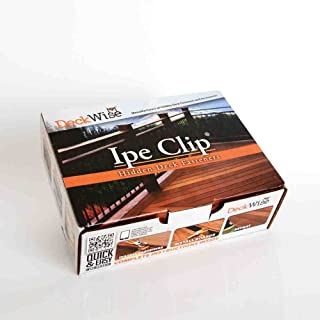 DeckWise Ipe Clip - Extreme KD Fastener System - 1/4