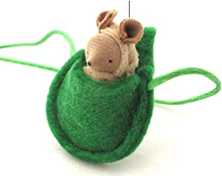 Tan Mouse Necklace