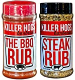 Killer Hogs BBQ Rub Bundle - The BBQ Rub (Original) - Steak Rub