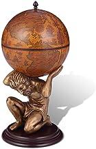 vidaXL Globebar Atlas Bar Globe Wereldbolbar Wereldbol Drankkast Kast Houder