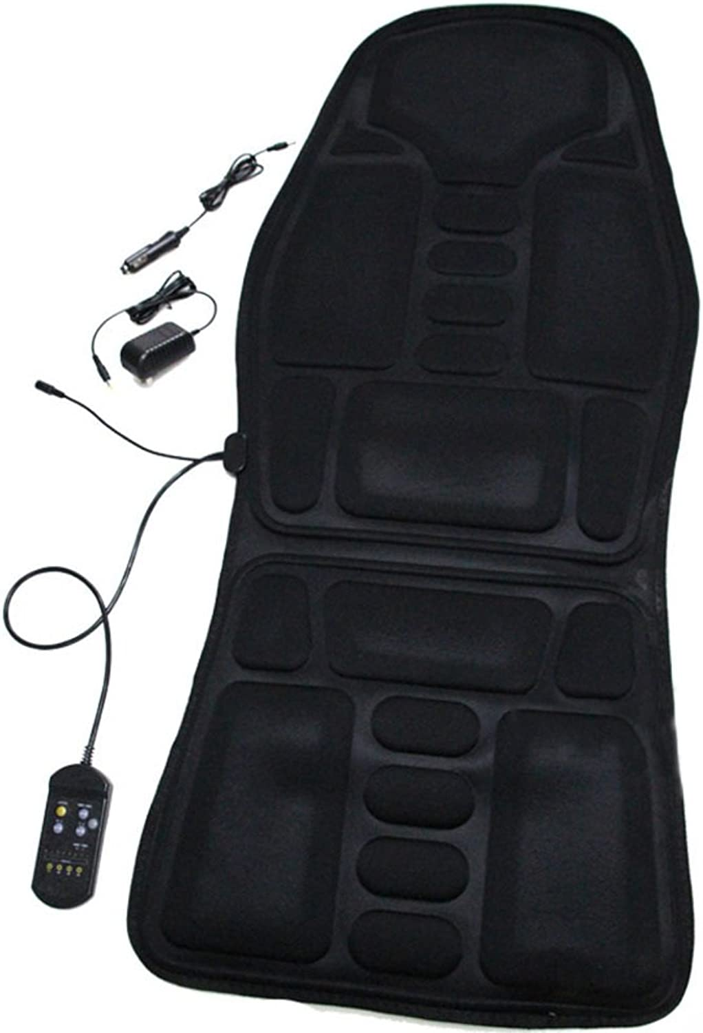 Auto Massage Cushion,Office Massage Cushion Back Thigh Massage-Black