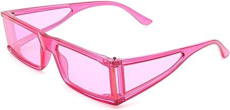 Face Shadow Fashion Rectangle Small Frame Sunglasses Kim K Celebrity Style Street Fashion Sun Glasses for Men Women