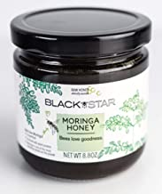 Black Star, 100% Raw Organic Moringa Honey. Nutritionally Rich, Harvested in Ghana, from Moringa Trees. Great Tasting. Perfect in Smoothies, Tea & Recipes