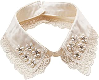 Highpot Women's Detachable Fake Collars Vintage Half Shirt Replacement Collar