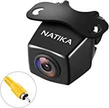 【Upgrade Version】 NATIKA Backup Camera, IP69K Waterproof Great Night Vision HD and Super Wide Angle Reverse Rear View Backup Camera for Cars Jeep Trucks SUV RV Van