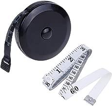 Rovtop Metre Ruban Metre Couture Mètre Ruban Ruban de Mesure Souple avec 60 Pouces et 1,5 m 2 Pièces