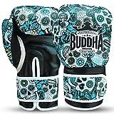 Buddha Fight Wear Guantes de Boxeo Mexican Premium (12 Onz,...
