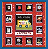 School Years Red and Blue Memory Keeper with 24...