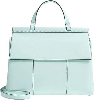 Tory Burch Women's 66285 Block-T Top-Handle Satchel Bag, Luna
