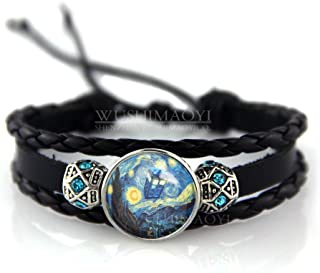 WUSHIMAOYI Tardis Doctor Who Starry Night bracelet Personalized bracelet Jewelry Customize Your Own Style