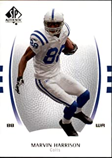 2007 SP Authentic #59 Marvin Harrison Colts NFL Football Card NM-MT