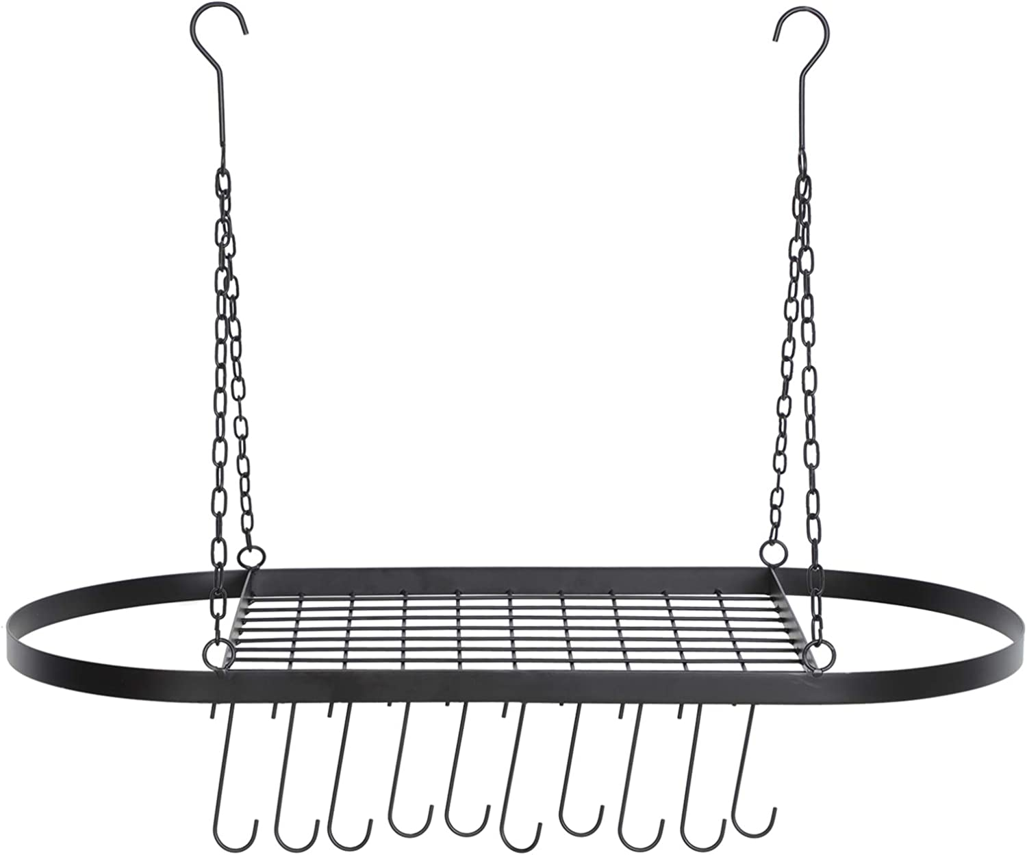 Luxury goods ARTISHION Hanging Save money Pot Pan Rack Ceiling Cook for Mounted
