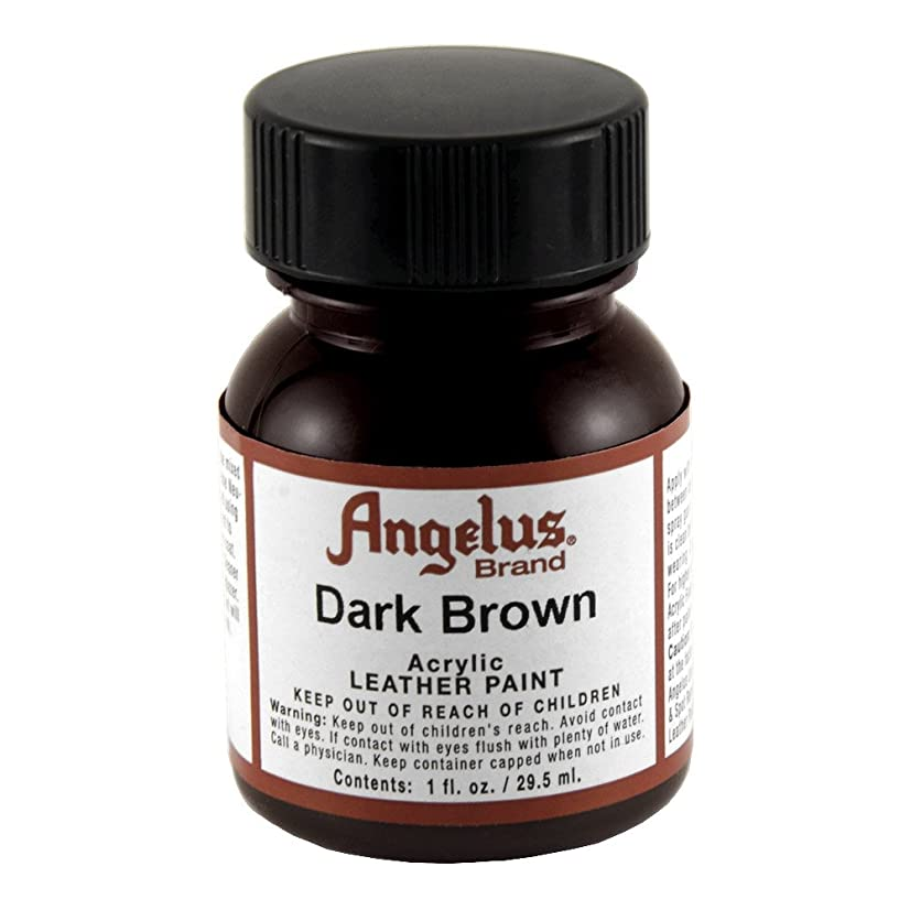 Angelus Leather Paint 1 Oz Dark Brown