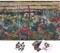 Pピオニーガーデン大人ジグソーパズル1000ピースブレイントレーナーパズル世界的に有名な絵画1000ピースパズルおもちゃ
