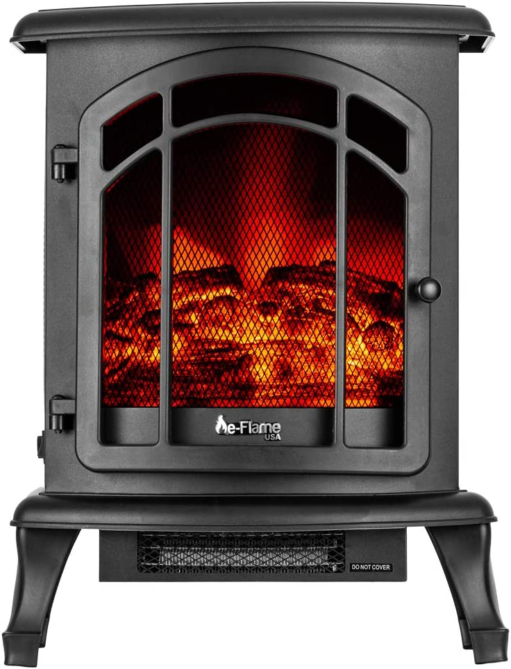 e-Flame USA Max 66% OFF Under blast sales Tahoe LED Portable Fireplace Electric S Freestanding