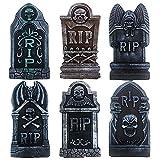 BEBEKULA 6 Pack Halloween Foam RIP Graveyard...