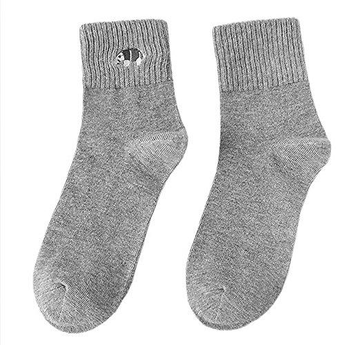 Pinzhi Femmes Fille schön Paire de chaussettes pour homme et femme en coton Mignon