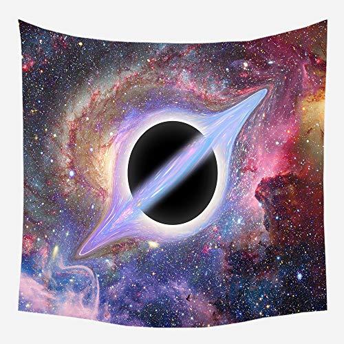 GTDALAO Arazzi verzorging van de decoratie van de bodem van het huis Dell'Arazzo van de zwarte Oß Dell'Universum Relativiteit