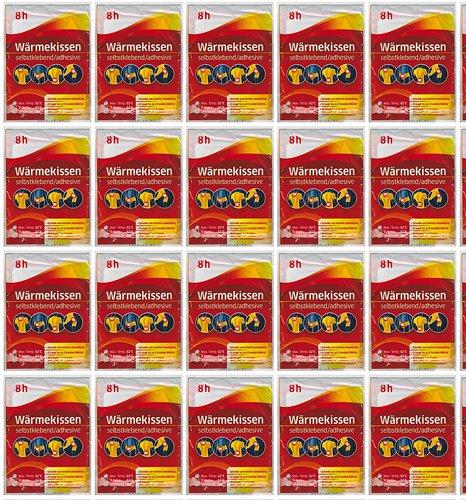 all-around24 10-er Pack Wärmekissen Werunia GmbH, selbstklebend, Wärmepflaster, Schmerzpflaster (10 Stück)