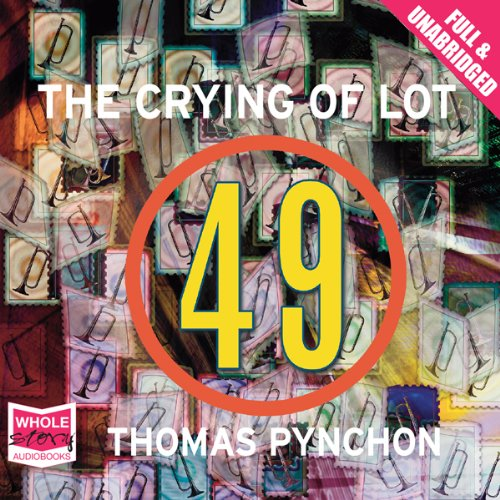 The Crying of Lot 49 audiobook cover art