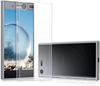 kwmobile Crystal Case for Sony Xperia XZ Premium - Soft Flexible TPU Silicone Protective Cover - Transparent transparent 4...