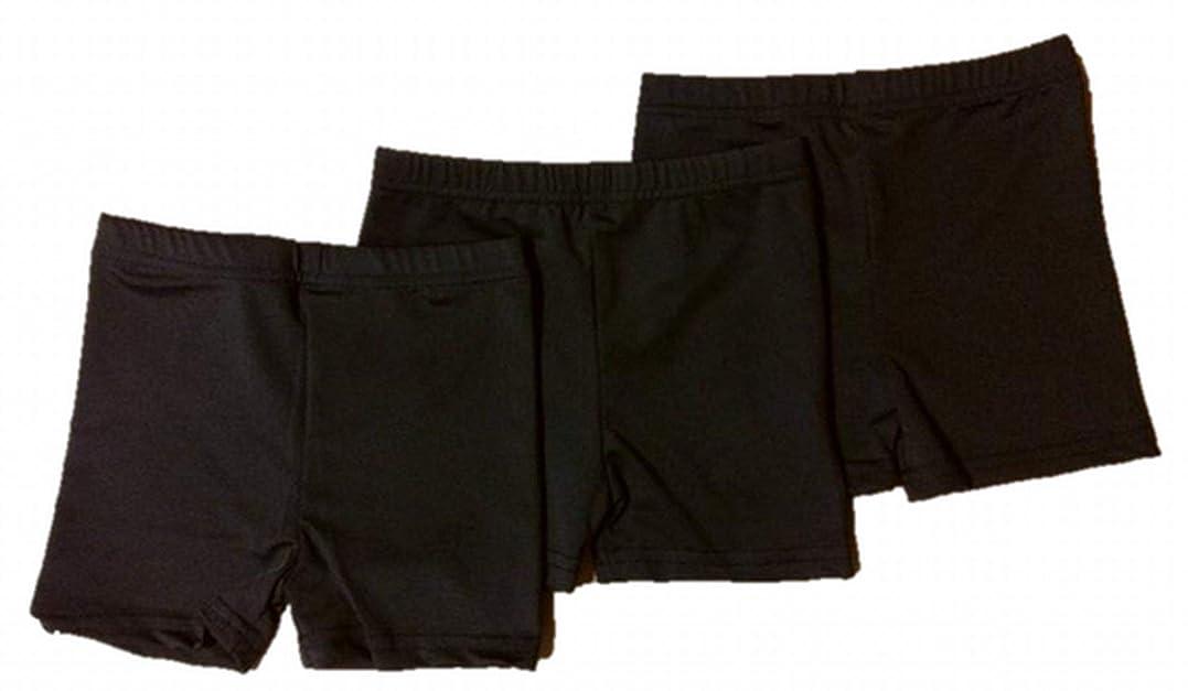 小包請求書どちらも[プチハピ] スパッツ 一分丈 薄手 パンチラ 防止 くろぱん スカートの下に キッズ 小学生 選べる 2枚組 or 3枚組
