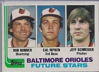 1982 topps cal ripken jr rookie card