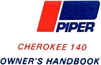 Piper Cherokee 140 Owner's Handbook: (PA-28-140 1964-68)
