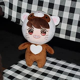 no!no! Kpop EXO XOXO Planet#2 Plush Toy Chanyeol Chen Kai Suho Sehun DO Baekhyun Dolls(G)