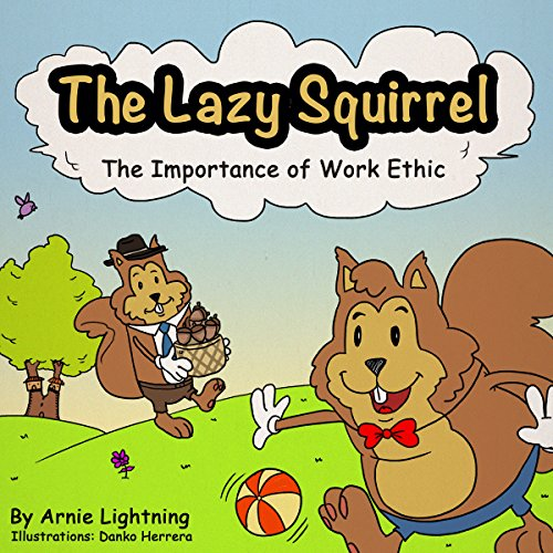 The Lazy Squirrel audiobook cover art