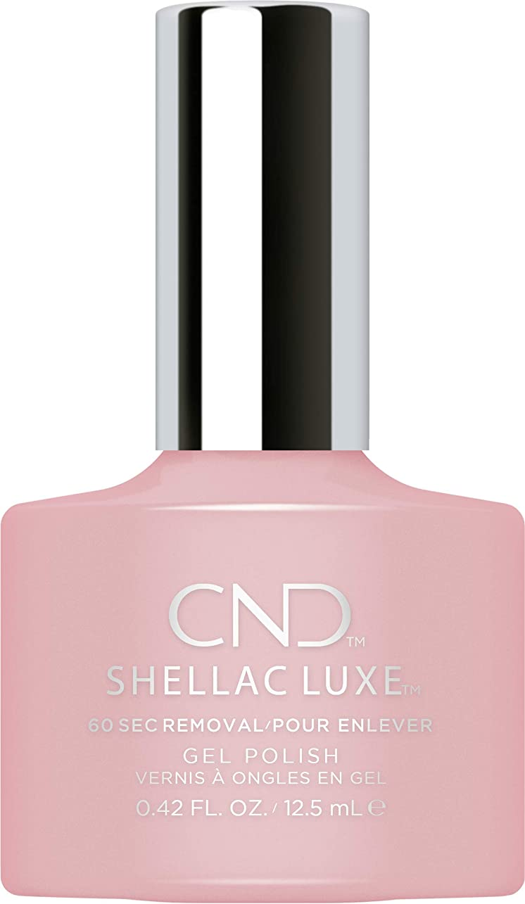 シーサイドシンプルな支出CND Shellac Luxe - Nude Knickers - 12.5 ml / 0.42 oz