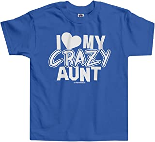 Little Boys' I Love My Crazy Aunt Infant/Toddler T-Shirt