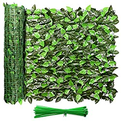 "in budget affordable Eden decoration 120 ″ X40 ""screen, artificial ivy leaf fence, natural artificial …"