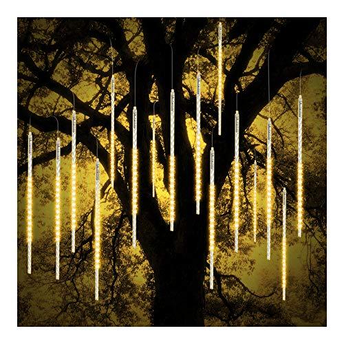 Ohcome [nuova versione] Meteora Rain Drop Lights 50cm 10A spirale tubi 540LED