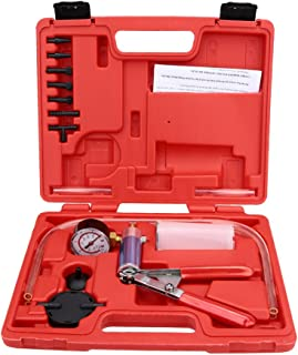 Romacci Kit de teste de sangria de vácuo da bomba de vácuo Ferramenta de garagem