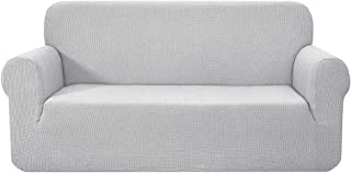 Artiss High Stretch Sofa Cover Couch Protector Slipcovers 3 Seater, Anti-Slip Foams Strips Machine Washable Sofa Covers Wi...