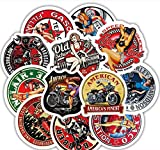 JIAQI Sexy Girl Vintage Stickers para Motocicleta Equipaje Skateboard Bicicleta Nevera Laptop Cute Cartoon Sticker Set 31Pcs