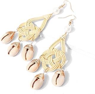 Women/'s Gold Drop Dangle Crochet Boucles D/'oreilles irrégulier géométrie naturelle Gemme Verre