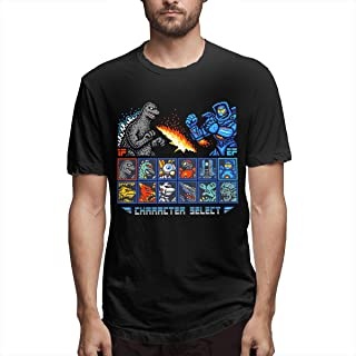 Kaiju Fighter Fashion Mens T-Shirt