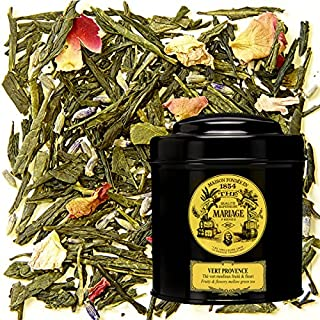 MARIAGE FRERES. Vert Provence, 100g Loose Tea, in a Tin Caddy (1 Pack) Seller Product Id MRLS56 - USA Stock