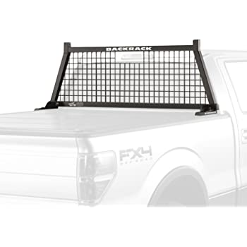 Backrack 50201 Truck Bed Over The Rail Headache Rack Tonneau Kit Steel Body Fits 99-16 Ford Superduty