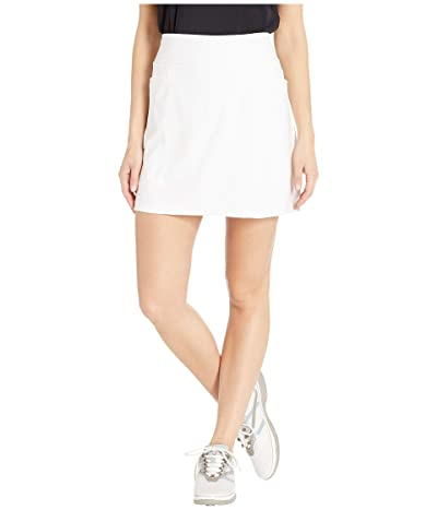 adidas Golf Ultimate Knit 16 Skort (White) Women