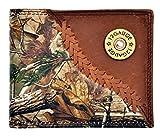 Custom 3D Belt Company 12 Gauge Realtree AP Camo Wallet Bi-fold Wallet
