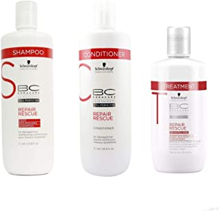 Schwarzkopf BC DEEP NORSHING SHAMPOO, CONDITIONER AND MASK 1000ml